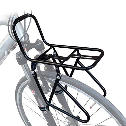 JXS-outdoor Rack-Front Pannier - Mountainbikes - Stahl Material ist Nicht leicht zu Rust - Kann Carry 15KG