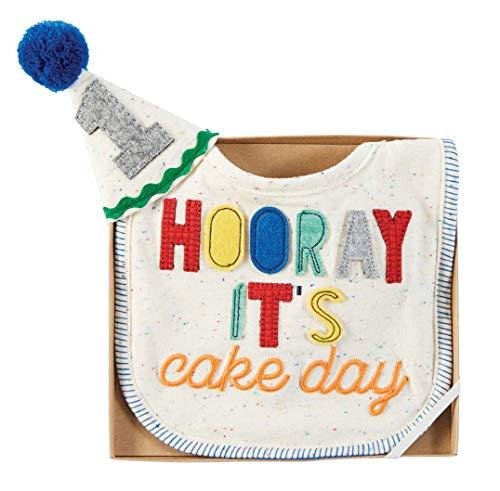 Mud Pie Baby Boys, Hooray its cake day, One Size