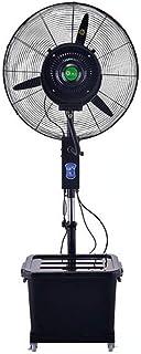 LIYANFS Rocíe Ventilador Industrial 3er Engranaje Aire Acondicionado v enfriamiento de Piso Vertical oscilante - Ventilador de Pedestal, Regulable 63-71 Pulgadas Altura/Fijo, Interior (Tamaño: 750MM)