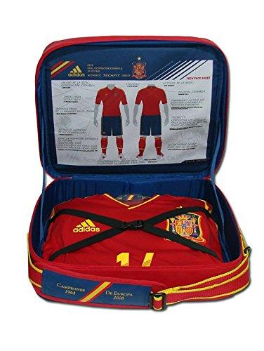 Adidas - ESPAÑA 1ª Camiseta Techfit EDICION Especial Silva 21 EURO12 Hombre