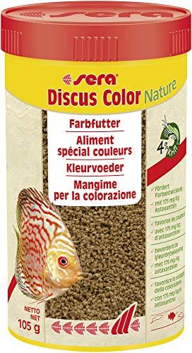 Sera Mangime in Granuli, Discus Color Red - 250 ml