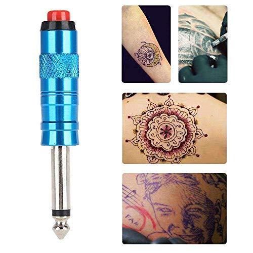 Yuyanshop Interruptor de pie de tatuaje, controlador de pedal de tatuaje inalámbrico interruptor de pie inteligente para máquina de tatuaje Fuente de alimentación Fuente de tatuaje (azul)