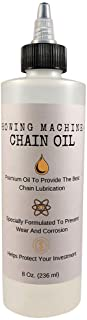 Unisport Concept 2 Rowing Machine Chain Oil (8 Oz) Premium Formula for Exercise Rower Chains, Compatible with Model D and ...