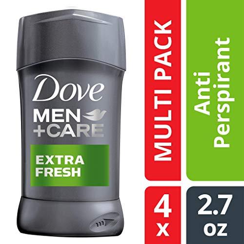 Dove Men+Care Antiperspirant Deodorant Stick, Extra Fresh, 2.7 Ounce (Pack of 4)
