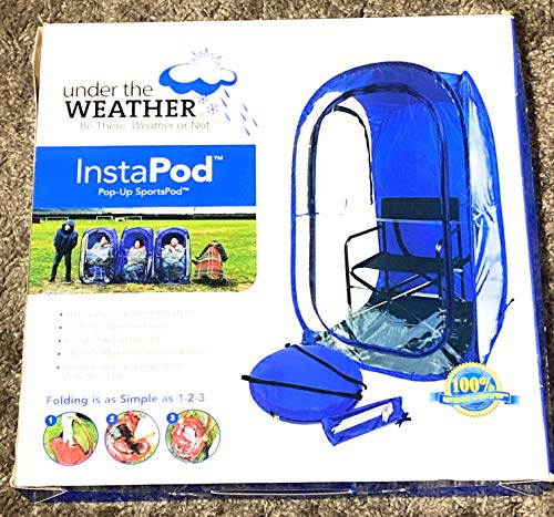 Under the Weather InstaPod Pop-Up Tent ~ Blue