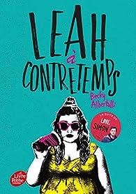 Leah à contretemps par Becky Albertalli