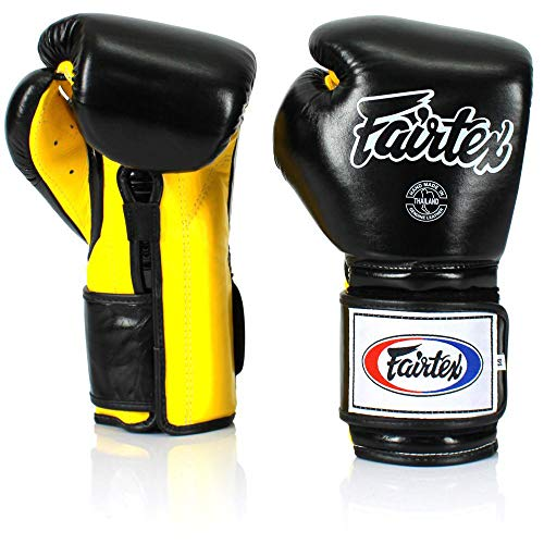 Fairtex BGV9 Guantes de Boxeo May Thai Training Sparring Fight MMA (12oz)