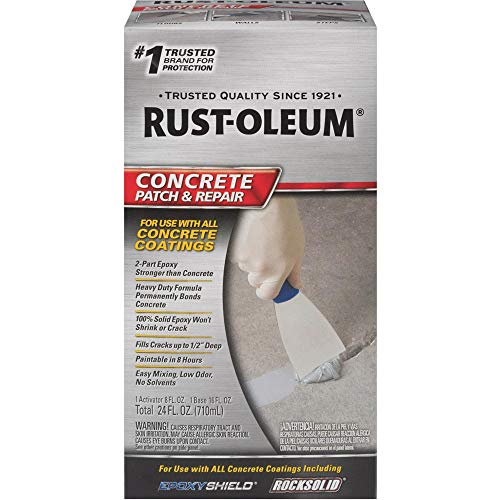 Rust-Oleum 215173 301012 Concrete Patch, 24 Oz