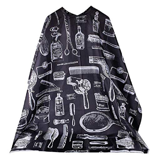 Ebelth✿ Cutting Hair Waterproof Cloth Salon Barber Gown Cape Hairdressing Hairdresser