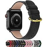 Fullmosa kompatibel Apple Watch Armband 40mm und 38mm,Leder Uhrenarmband Ersatzband für Apple Watch...