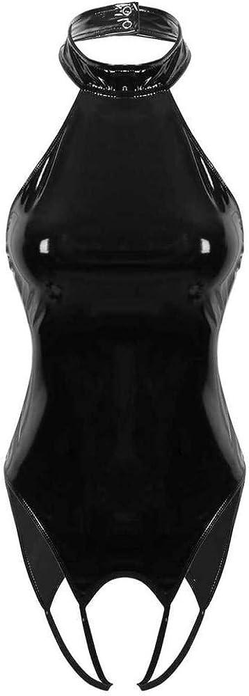 New product GWSFQ Sexy Lingerie Setlatex Catsuit Womens Charlotte Mall Bodysu