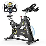 pooboo Indoor Cycling Bike Stationary Bike Commercial Standard Exercise Bike