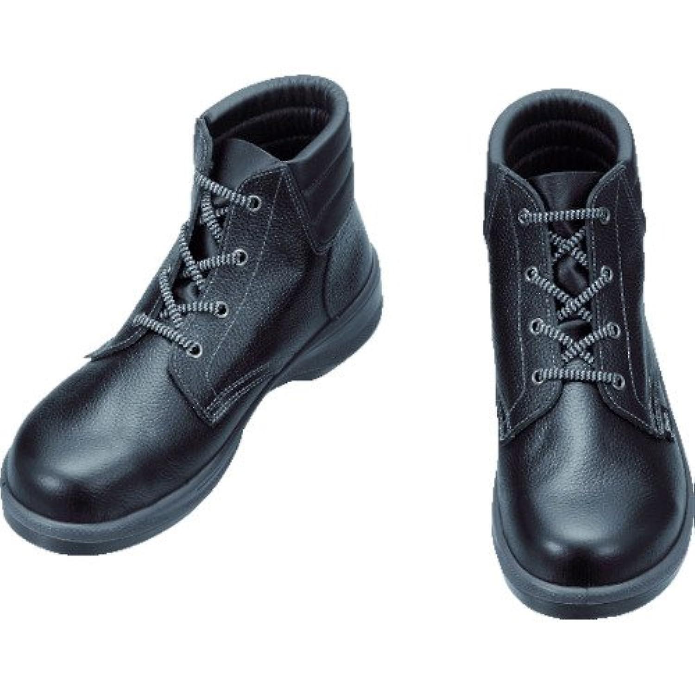 シモン 安全靴 編上靴 7522黒 25.5cm 7522N-25.5