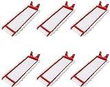 YAJIWU Recambios 6 almohadillas de repuesto de microfibra para fregona Vileda 1-2