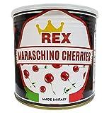 REX Gourmet Cocktail Maraschino Cherries, 116 Ounces