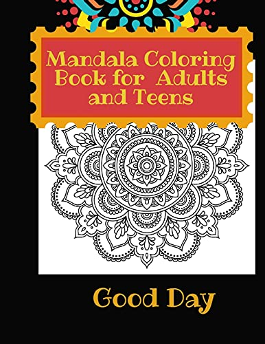 Mandala Coloring Book for Teens and Adults: Have fun with your Daughter with this gift: coloring Mermaids, Animals, Flowers and Nature50 pages of pure fun!