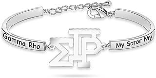Sigma Gamma Rho Sorority Necklace 1922 Sorority Paraphernalia Bracelet Greek Sorority Jewelry for Women