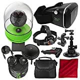 360Fly 4K VR Action Video Camera with 360fly VR Smartphone Headset,...