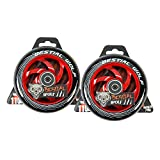 Kit 2 TWISTER-110 Rueda Bestial Wolf 110 mm para patinetes Pro Scooters Ideal para Parck y Freestyle (Rojo)