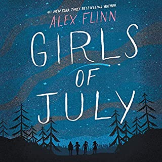 Girls of July audiobook cover art