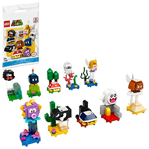 LEGO Super Mario Packs, Juguete Coleccionable-1 Unidad (Personaje Seleccionado Aleatoriamente) (71361)