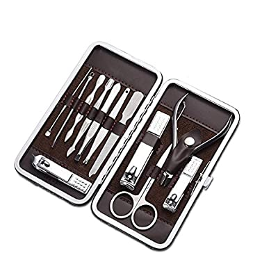 Cater Manicure, Nail Clippers Set of 12Pcs