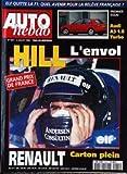 AUTO HEBDO [No 1041] du 03/07/1996 - ELF QUITTE LA F1. PREMIER ESSAI : AUDI A3 1.8 TURBO. GRAND PRIX DE FRANCE : HILL L'ENVOL. RENAULT CARTON PLEIN.