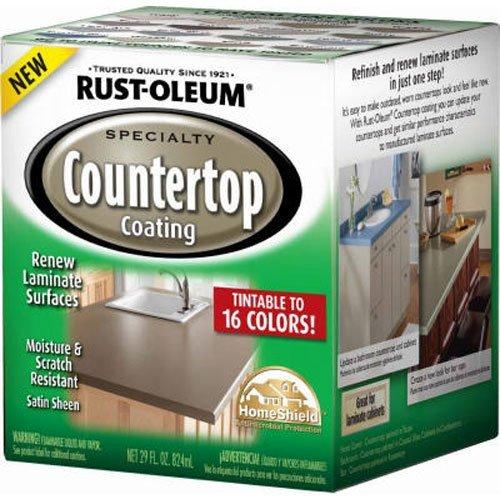 RUST-OLEUM 246068 Quart Interior Countertop Coating, 1 Qt