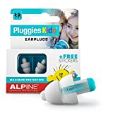 Alpine Pluggies Kids Ear Plugs for Small Ear Canals – Noise...
