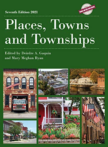 Places, Towns and Townships 2021 (County and City Extra Series)