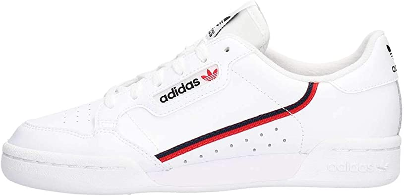 Amazon.com | adidas Continental 80 Boys Sneakers (White, Numeric_7 ...