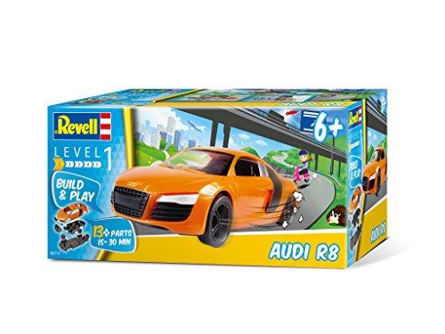 Revell 06111 - Steckbausatz - Audi R8 im Maßstab 1:25