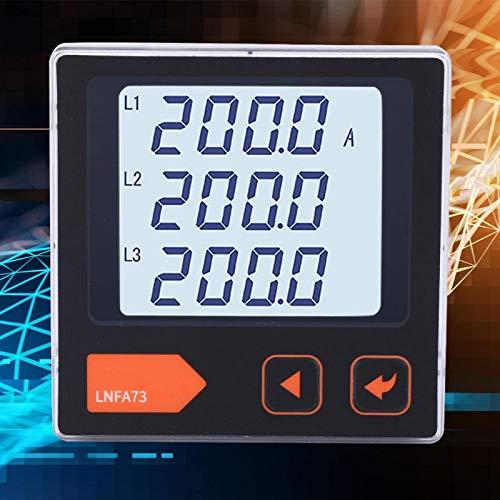 Contador de corriente de amperímetro trifásico inteligente de alta precisión para la fábrica de oficina (LNFA73)