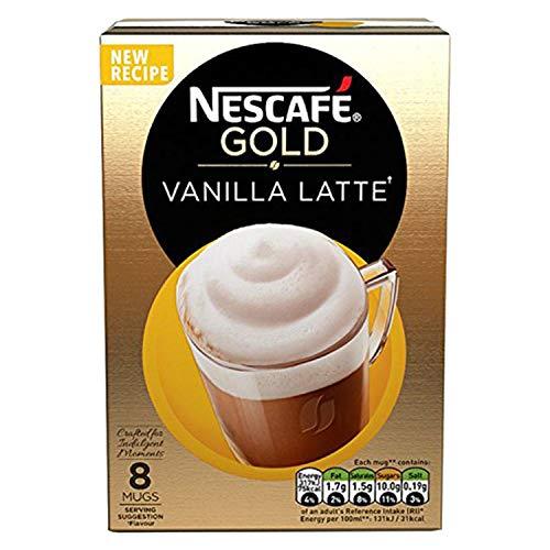 NESCAFE CAFÉ MENU Latte 8x 19,5g Sachets (156g)