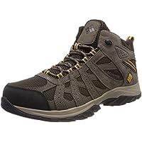 Columbia Canyon Point Mid, Zapatos Impermeables de Senderismo para Hombre, Marrón (Cordovan, Dark Banana 231), 42 EU