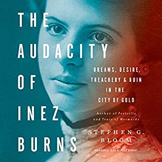 The Audacity of Inez Burns audiobook cover art