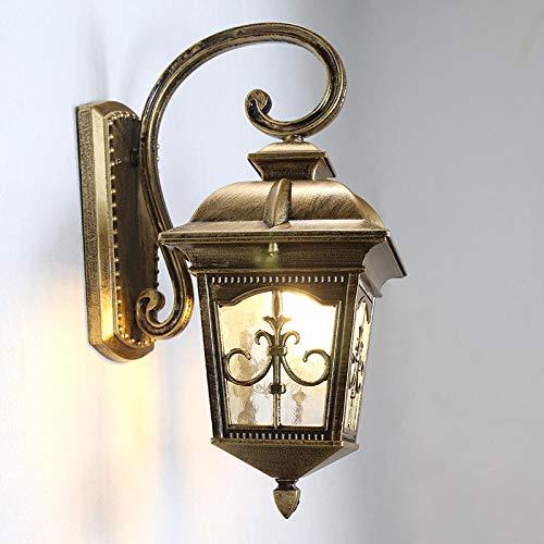 ZXCN Wandleuchte Robust und Leicht zu Reinigen Moderne Wandlampe Flurlampe nachtlampe Schlafzimmer Treppenhaus Flur Wandbeleuchtung innenbeleuchtung Trompete Schwarz