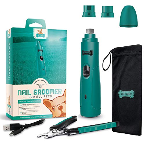 Ruff 'n Ruffus Electric Rechargeable Pet Nail Grinder