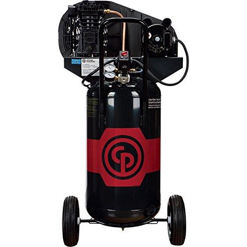 - Chicago Pneumatic Reciprocating Air Compressor - 2 HP, 26...