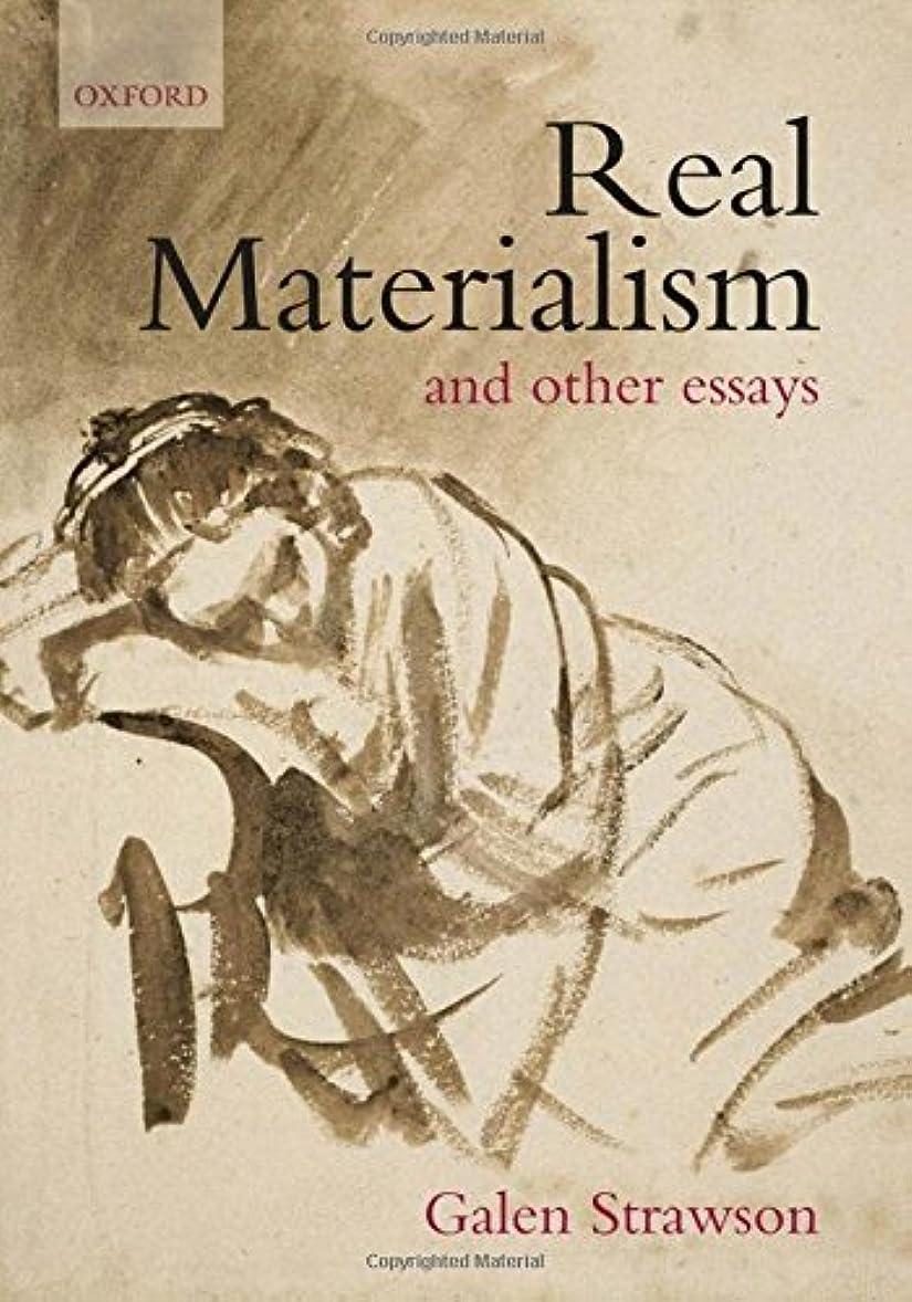ポルノマーキー判読できないReal Materialism: And Other Essays