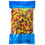 Bulk Skittles in an 8 lb Resealable Bomber Bag Fresh, Tasty Treats - Great For Office Candy Bowls - Vending Machine Refill - Holidays -Wholesale - Party Size!!!!