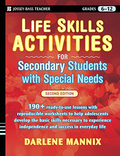 Compare Textbook Prices for Life Skills Activities for Secondary Students with Special Needs, 2 edition 2 Edition ISBN 9780470259399 by Mannix, Darlene