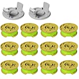 Line String Trimmer Replacement Spool, 11ft 0.080' Replacement Trimmer Spool for Ryobi One Plus AC80RL3 18v 24v and 40v Cordless Trimmers Line Refills Weed Wacker Auto-Feed Twist Single Line Parts