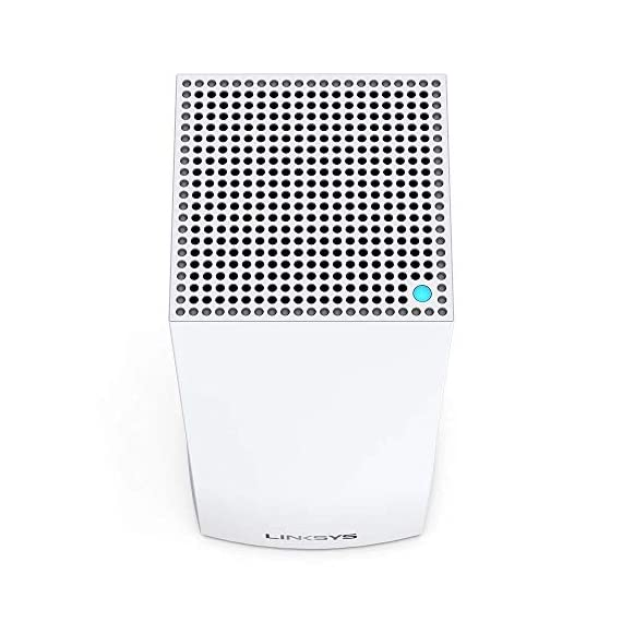 Linksys AX5300 Smart Mesh Wi-Fi 6 Router Whole Home WiFi Mesh System,Tri-Band AX Wireless Gigabit Mesh Router, Fast… 7 Mesh Wi-Fi router provides next-gen Wi-Fi 6 speeds and whole-home mesh coverage Bandwidth for 50+ wireless devices and coverage for homes up to 6000 square feet Provides ultra-fast, reliable Wi-Fi coverage for 4K streaming, gaming, and more