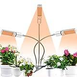 Coulax Pflanzenlampe Pflanzenlicht Vollspektrum 60W 132 LEDs Grow Lampe 3