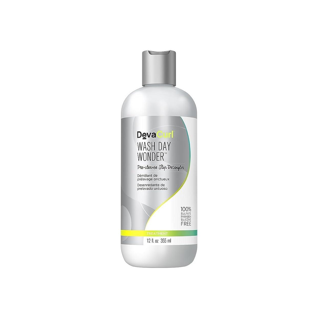 目的影ハンカチデヴァ Wash Day Wonder (Pre-Cleanse Slip Detangler - For All Curl Types) 355ml/12oz並行輸入品