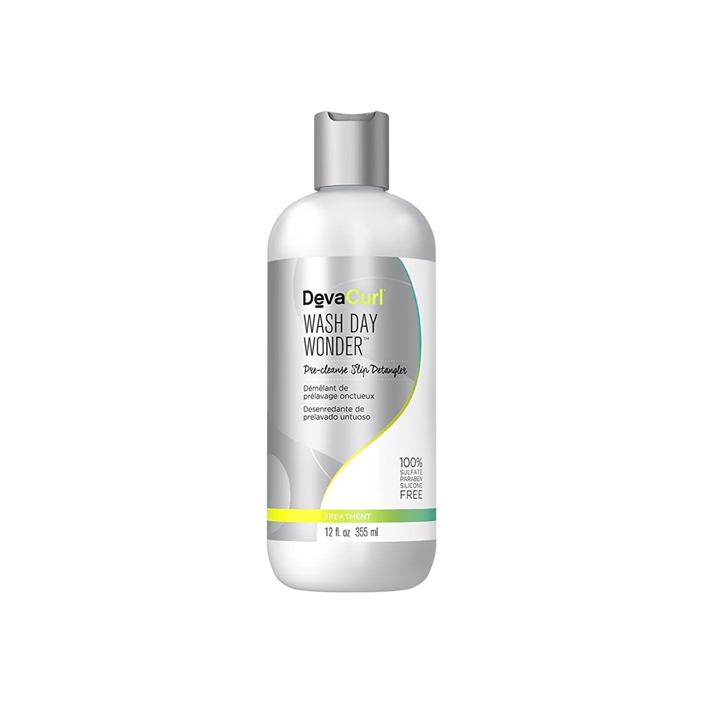 七時半フリンジサスペンションデヴァ Wash Day Wonder (Pre-Cleanse Slip Detangler - For All Curl Types) 355ml/12oz並行輸入品