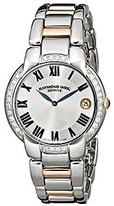 Raymond Weil Women's 5235-S5S-01659 Jasmine Analog Display Swiss Quartz Two Tone Watch