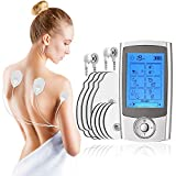 tens electroestimulador muscular electrodos estimulador muscular electroestimulador tens con 16 Modos 8 pads