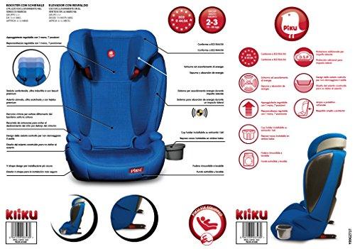 Piku Kliku Fix - Silla de coche grupo 2/3, color azul